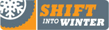 shift into winter logo